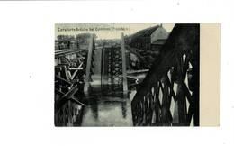 Zerstorte Brucke Bei Comines ( Flandern.) 1917. Très Rare. - Guerre 1914-18