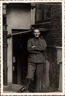 Photo Originale Guerre 1939/45 Portrait De Soldat Allemand En 1939 - Légende Dos - Krieg, Militär