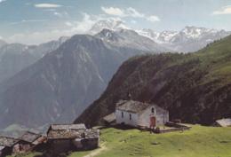 Postcard - Alp Bel Ob Blatten / Naters 2009m Fletschorn, Switzerland - Card No. 44970 - VG - Cartes Postales