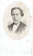 LEDE / AALST / GENT - Leo BLANCQUAERT - Student Kollegie AALST - Geboren 1858 En Overleden 1874 - (Litho VAN LOO) - Imágenes Religiosas