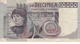 BILLET ITALIE 10 000 LIRE De 1982 @ PICK 106 B - [ 2] 1946-… : Repubblica