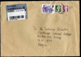 16709 GRANDE-BRETAGNE  N°1684, 1690, 1832 ° Recommandé   Du 21.10.1999  TB - 1952-.... (Elizabeth II)