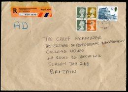 16710 GRANDE-BRETAGNE  N°1617a, 1685, 1690, 1732  ° Recommandé   Du 24.1.1999  TB - 1952-.... (Elizabeth II)