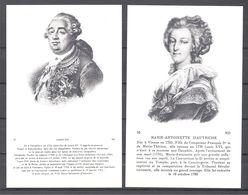 CPA Couples Royaux Français Louis XVI Et Marie Antoinette D'Autriche - Histoire