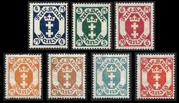 DANTZIG 1921 - 7 Valeurs Entre  YT 94 Et 101  -  NEUFS* - Danzig