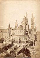Photo Ancienne (sans Carton) - Caen - Abbaye Aux Hommes (dim 17x12 Cm) - Antiche (ante 1900)