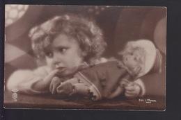 CPA FANTAISIE - Fillette Avec Poupée - Babies