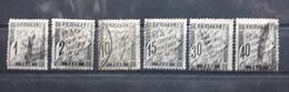 Frankreich PORTO 1881/84, Partie Gestempelt - Postage Due