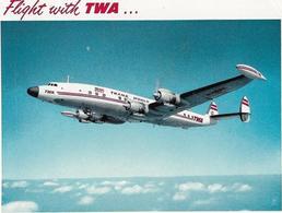 D-SUPER-G CONSTELLATION TWA - 1946-....: Era Moderna