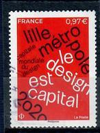 Frane 2020-1 Lille Metropole - Oblitérés