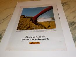ANCIENNE  PUBLICITE LA REDOUTE ROUBAIX 1978 - Autres