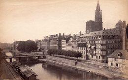 Photo Ancienne (sans Carton) - Strasbourg - Un Canal ? (dim 17x11 Cm) - Antiche (ante 1900)