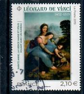 Yt 5355-1 Serie Artistique Leonard De Vinci-cachet Rond - Oblitérés