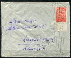 5671 - DEUTSCHES REICH - Brief Mit EF Der Mi.Nr. 352 Unterrand - Lettres & Documents