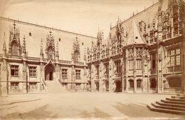 Photo Ancienne (sans Carton) - Rouen - Palais De Justice (dim 18x11 Cm) - Antiche (ante 1900)