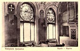 ROUMANIE / ROMANIA : TIMISOARA - SEMINARIUM KAPELLE / KÁPOLNA / CHAPEL - ORGUE / ORGAN / ORGEL ~ 1920 - '925 (ad804) - Musique Et Musiciens
