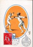 51220 San Marino, Maximum 1964 Olympiade Of Tokyo, Fechten Fencing, Escrime, Scherma - Fencing
