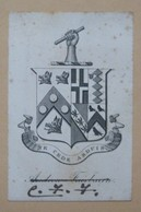 Ex-libris Héraldique XVIIIème - ANDREW FAIRBAIRN - Ex-libris