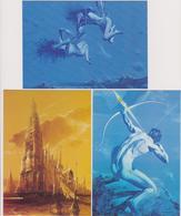 SIUDMAK  Wojtek  Ed Pocket - Pochette De 10 CP Science Fiction - CPM 10,5x15  état Luxe 1990 Neuves - Illustrateurs & Photographes