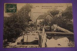 CPA 58 MONTSAUCHE LES SETTONS VIEUX MOULIN BORD DE LA CURE RARE PLAN 1908 - Montsauche Les Settons