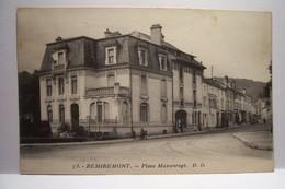 REMIREMONT   -  Place  Maxonrupt - Remiremont