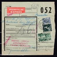 Expres Vrachtbrief Met Stempel Brugge J1J - 1942-1951