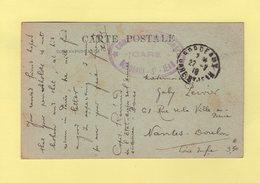 Commission Militaire - Gare De Bordeaux St Jean - 1918 - Guerra De 1914-18