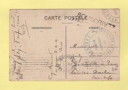 Commission De Gare - Toulouse - Le Commissaire Militaire - Souscrivez A L Emprunt National - Guerra De 1914-18