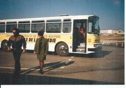 Photo MIREVAL - LA PRISON - BUS AUTO-ECOLE DE MONTPELLIER ( Animées  ) - Unclassified