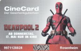GERMANY - KINOPOLIS/ROSENHEIM , Deadpool 2 Movie, Gift Card - Gift Cards