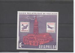 FRANCE - Salon Philatélique à Toulouse : AVIAPHIL 1984 - CNEP