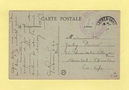 Commission De Gare - Gare De Chartres - 1917 - Guerra De 1914-18