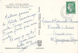 """Cachet De L""""agence De Vieux-Boucau-les-Bains ,An.1 , Landes ,1972 - Poststempel (Briefe)"""