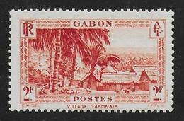 GABON 1933 YT 142** MNH - Nuovi