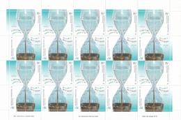 EL AGUA, UN RECURSO ESCASO. AÑO 2004 ARGENTINA GJ 3408 - 3409 MNH PLANCHA CON SERIE COMPLETA ARGENTINE WATER -LILHU - Argentina