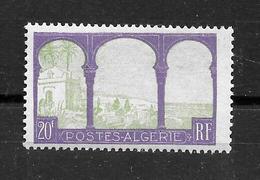 ALGERIE Française :  N° 85 Neuf **  TB (cote 11,05 €) - Neufs