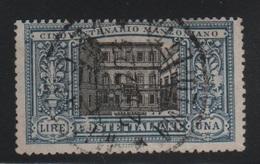 1923 Manzoni 1 L. US - Usati