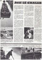 1948 Péniche Marinier  AVEC LE CHALAND QUI PASSE - Vieux Papiers