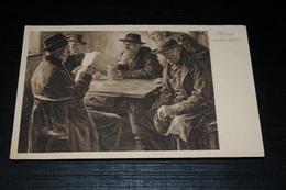 10109            KRIEGSNACHRICHTEN / KÜNSTLERKARTE NACH ORIGINALEN VON HANS BEST - Illustratori & Fotografie