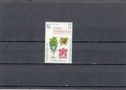 Nueva Hebrides Nº 313 Con Charnela - Leyenda Inglesa