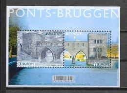 """België 2018 Velletje """"Bruggen"""" (**) - Unused Stamps"""