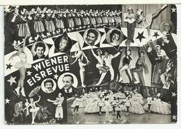 """Cartolina Fotografica Del """"WIENER EISREVUE"""" - Danza"""
