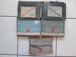 5 Paquets De Plaque De Verre (dimensions 13x18) - Plaques De Verre