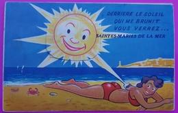 Carte Système Saintes Maries De La Mer 10 Vues Carte Postale 13 Bouches Du Rhône Rare - Saintes Maries De La Mer