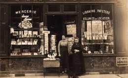 Mercerie, Librairie Et Papeterie à Identifier. - France