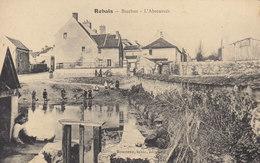 77 /   Rebais :  Bacchus , L'abreuvoir    /////   REF. BO. 77 - Rebais
