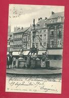 C.P. Huy  =   Fontaine  Sur  La Grand'Place - Hoei