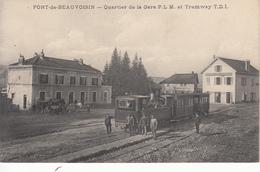 73 PONT DE BEAUVOISIN Quartier De La Gare PLM Et Tramway TDI - Frankreich