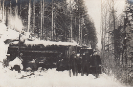 CARTE PHOTO ALLEMANDE - GUERRE 14-18 - VOSGES - VOGESEN - BLOCKHAUS EN FORÊT - Weltkrieg 1914-18
