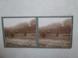 (recto Verso) Concours Hippique De Nancy 2 Juin 1912 -- Ouverture De La Peche Juin 1912 Doubs - Photos Stéréoscopiques